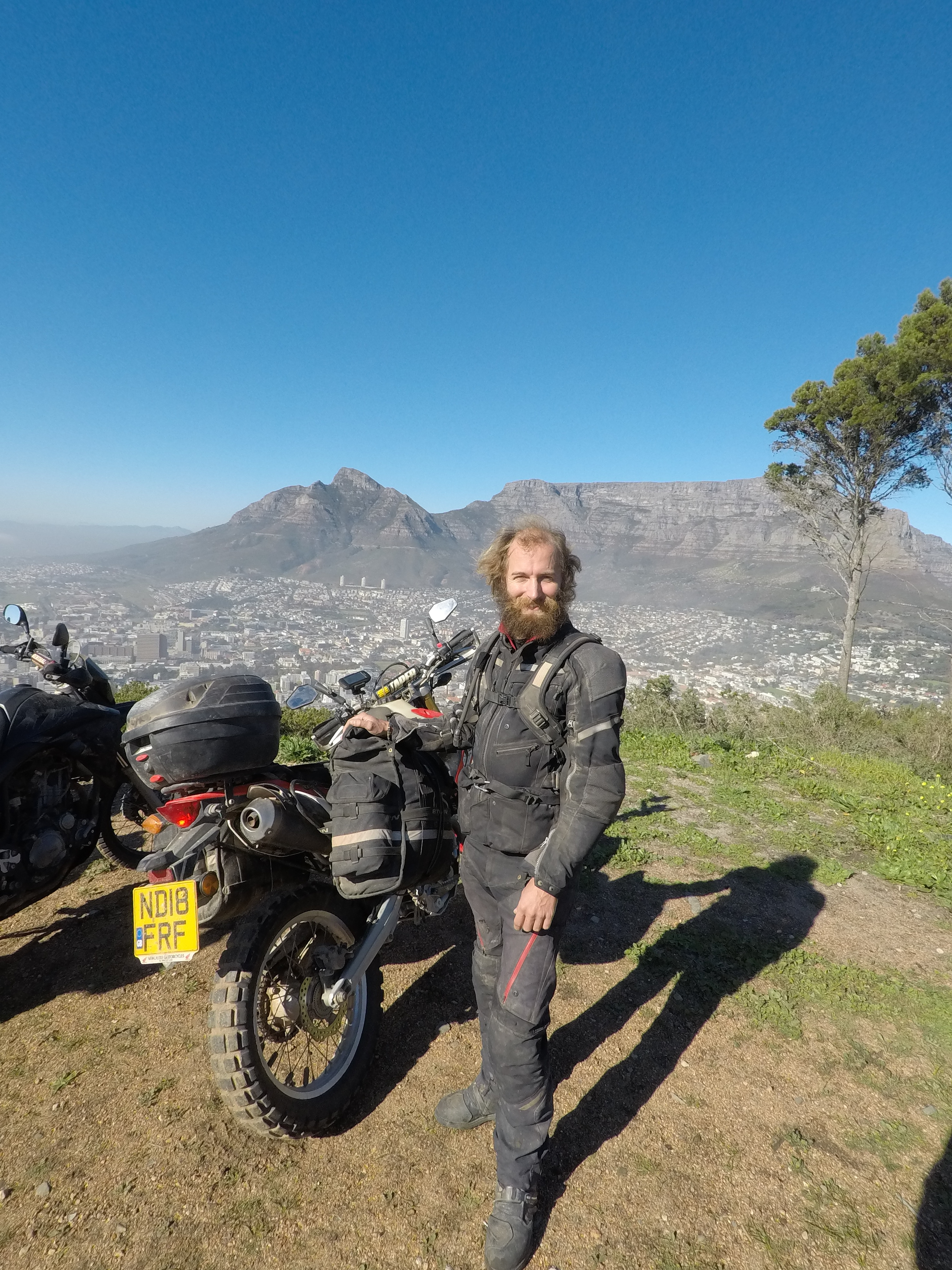 At Signal Hill, Cape Town, South Africa. Fantastic view across Cape Town.